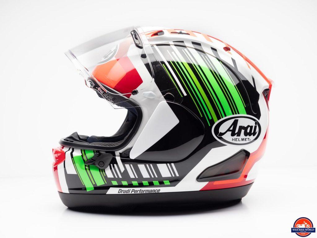 Arai Corsair-X Rea 5 Graphic Helmet profile