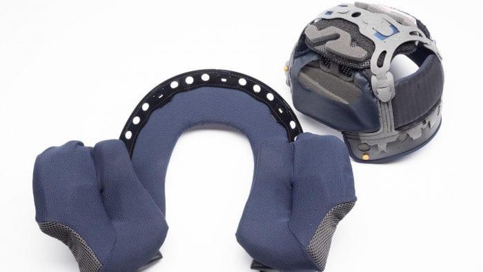 Arai Corsair-X Rea 5 Graphic Helmet interior pieces