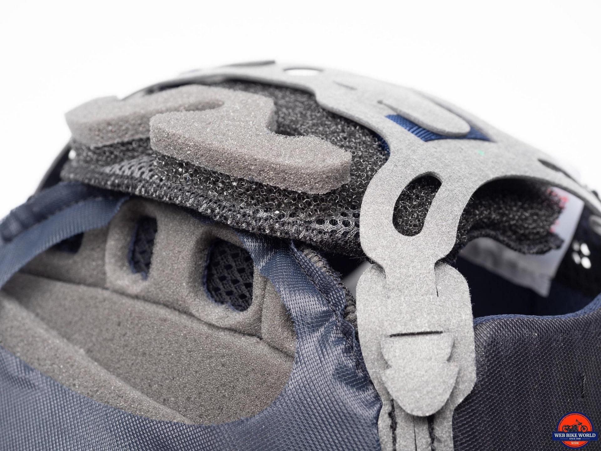 Arai Corsair-X Rea 5 Graphic Helmet fitment adjusters
