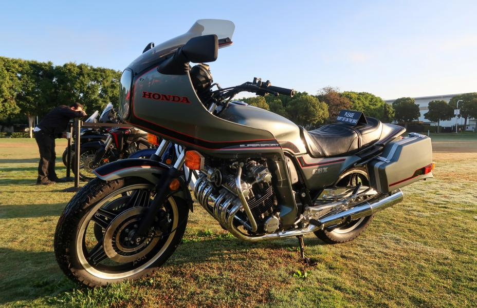 Honda CBX motorcycle