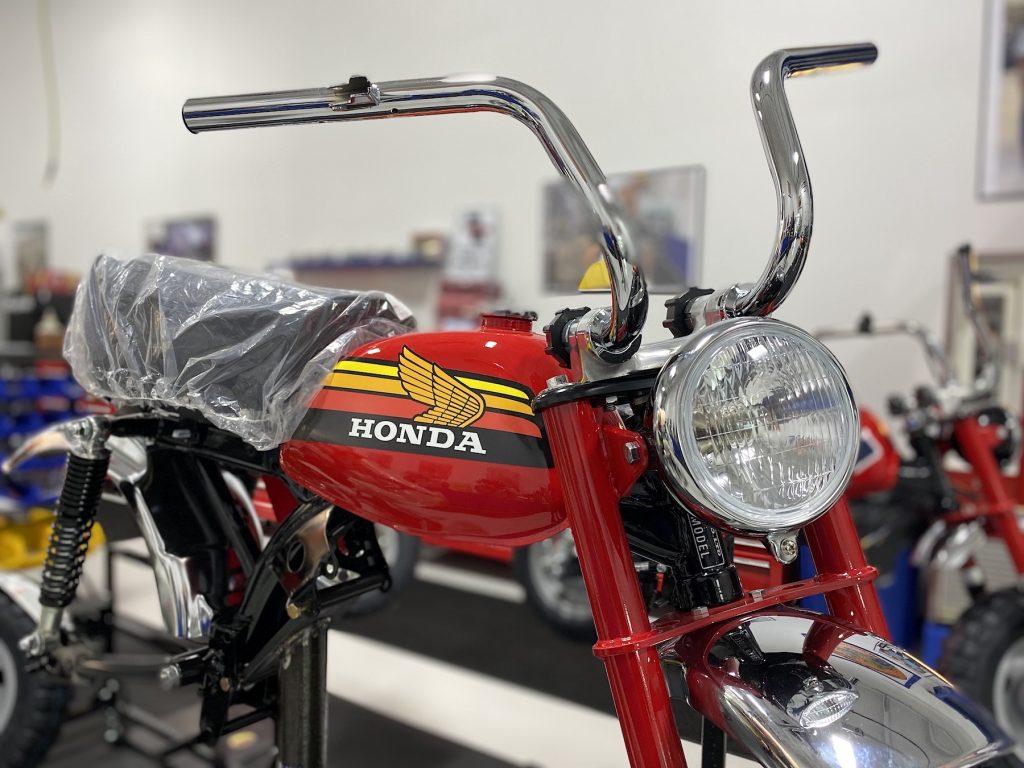 honda Z50 in Lil' Bikes Restoration's shop