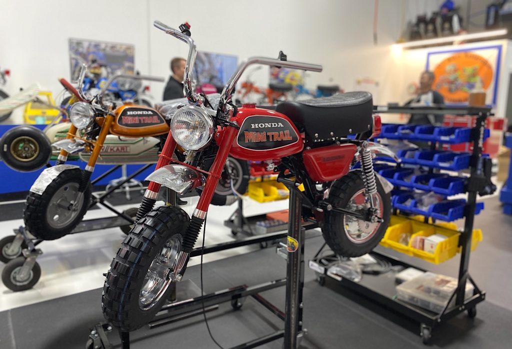 Lil' bikes restoration Honda Z50 undergoing restoration