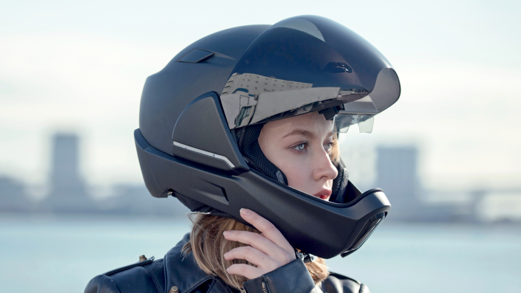 CrossHelmet Smart Helmet at EICMA