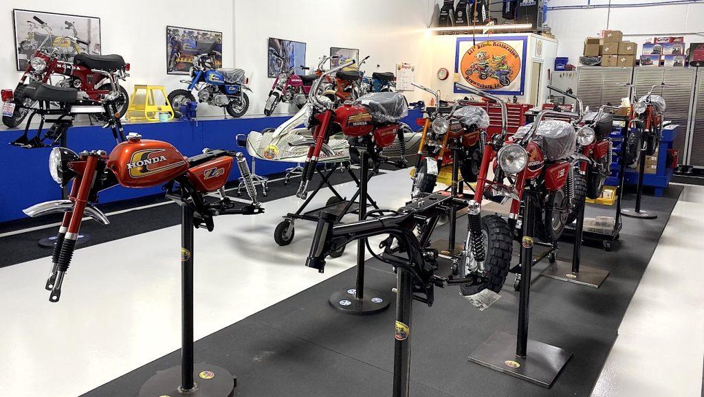 Lil' bikes Restoration shop