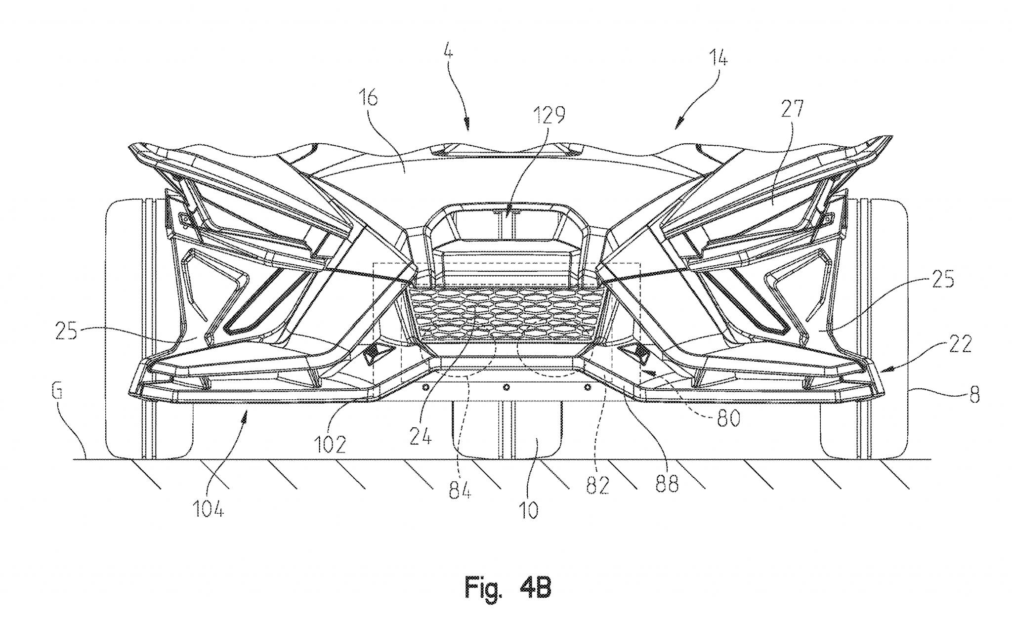 Polaris slingshot patent drawing