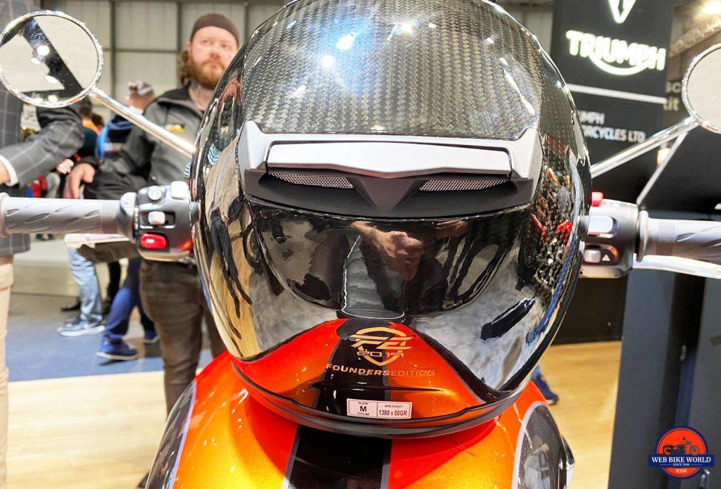 The Forcite Smart Helmet.