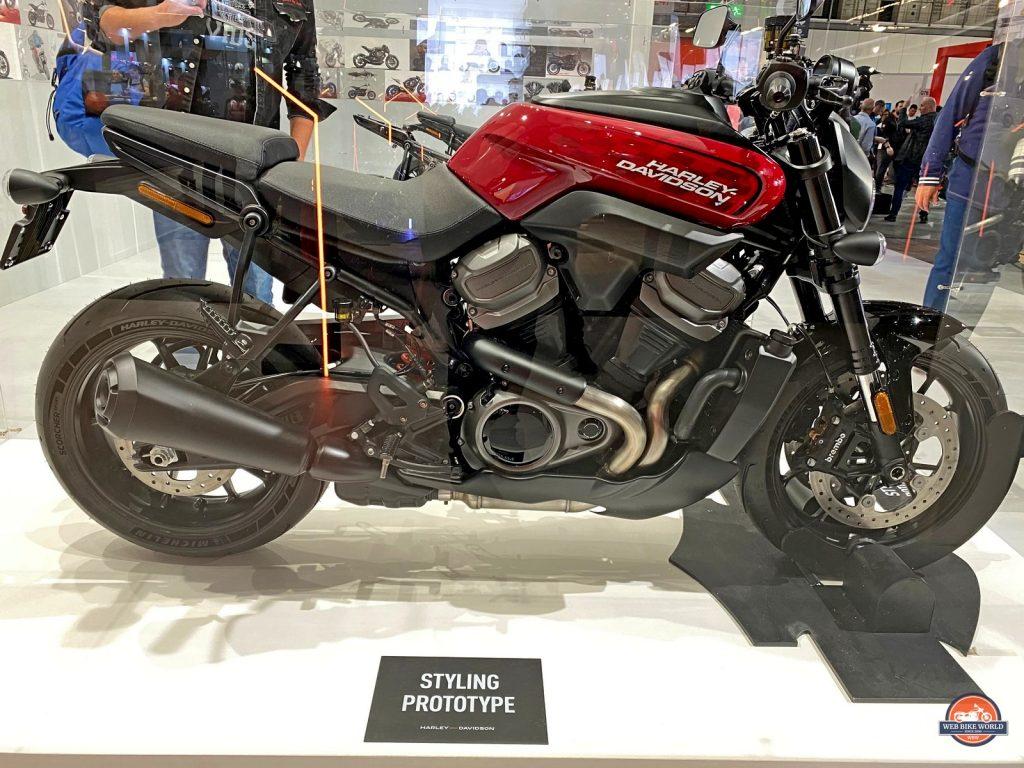 Harley Davidson Bronx prototype.