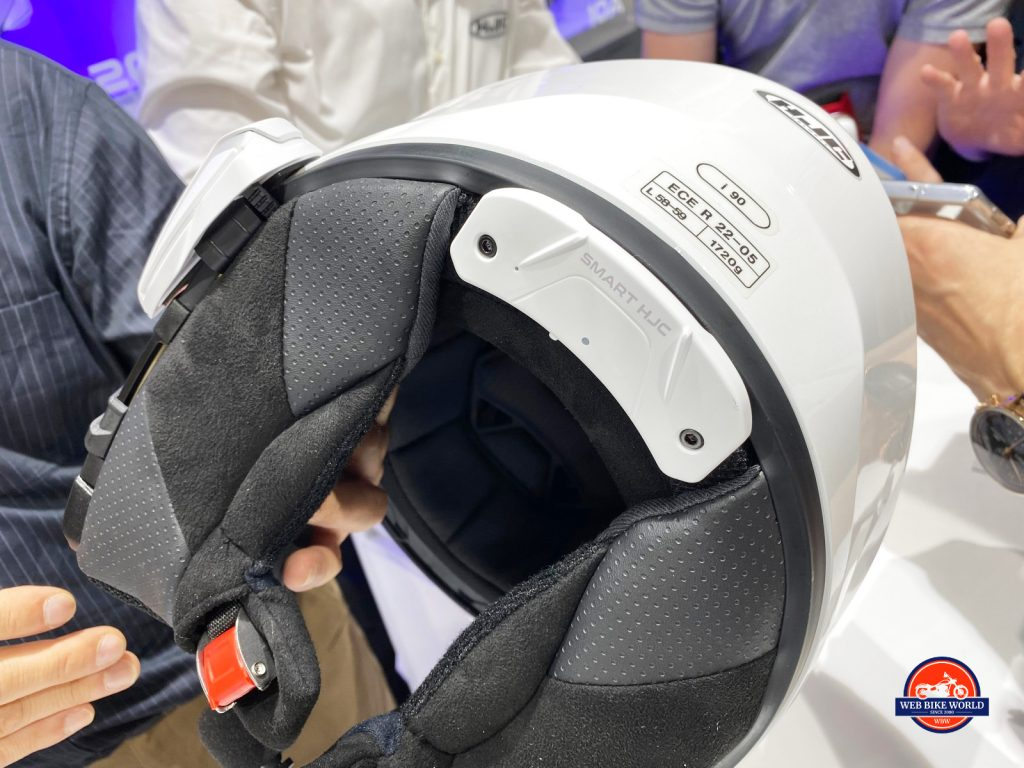HJC Smart Helmet.