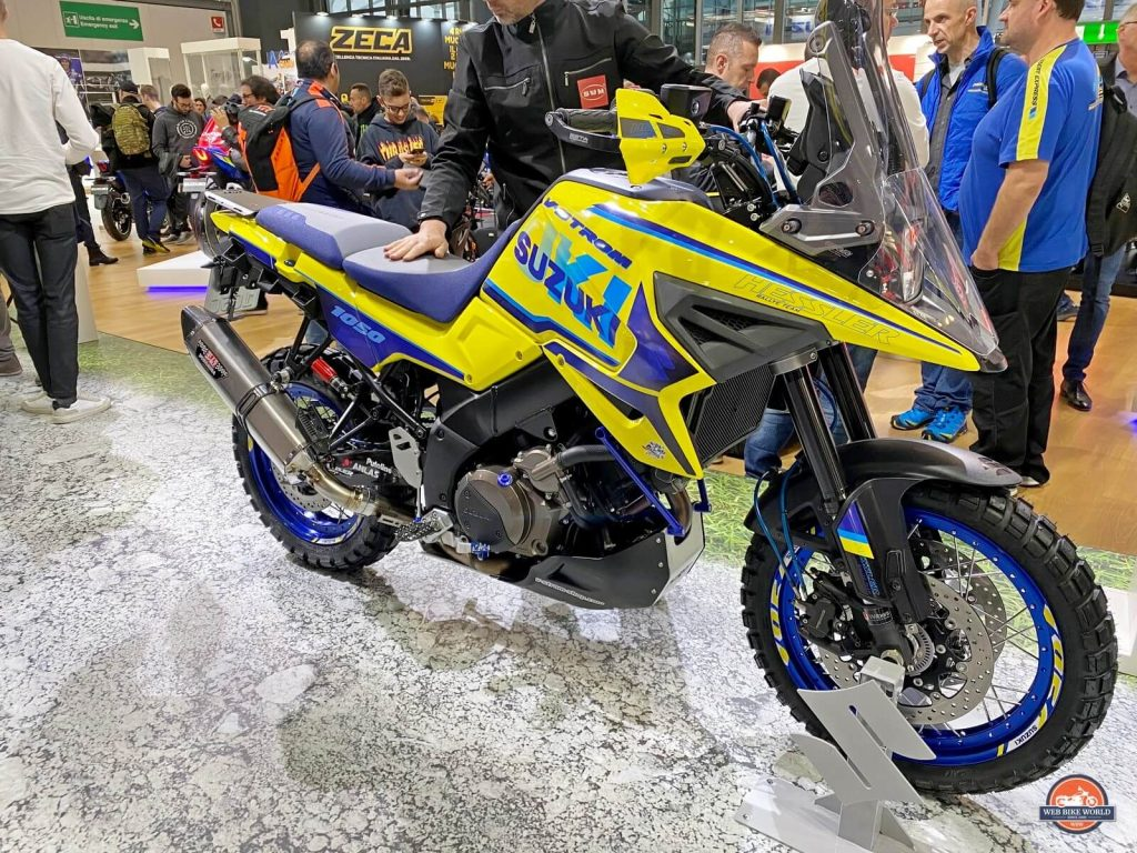 A Tricked out V-Strom 1050 from Hessler Racing.