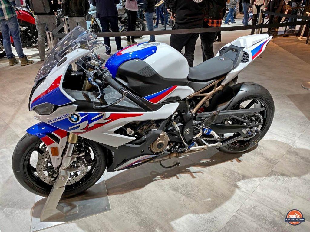 2020 BMW S1000RR.