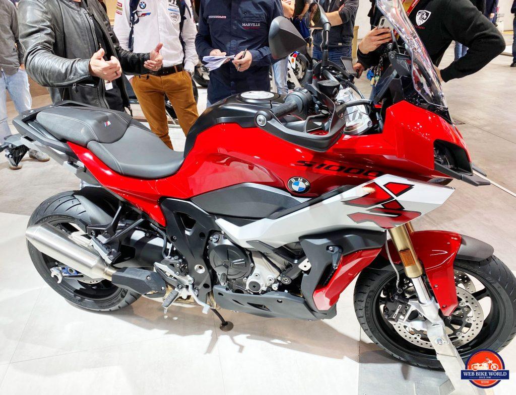 2020 BMW S1000XR.
