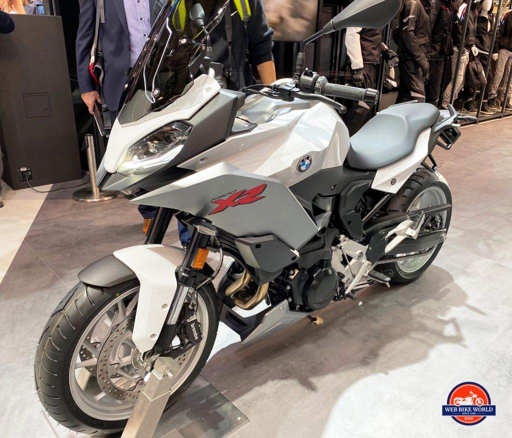2020 BMW F900XR.