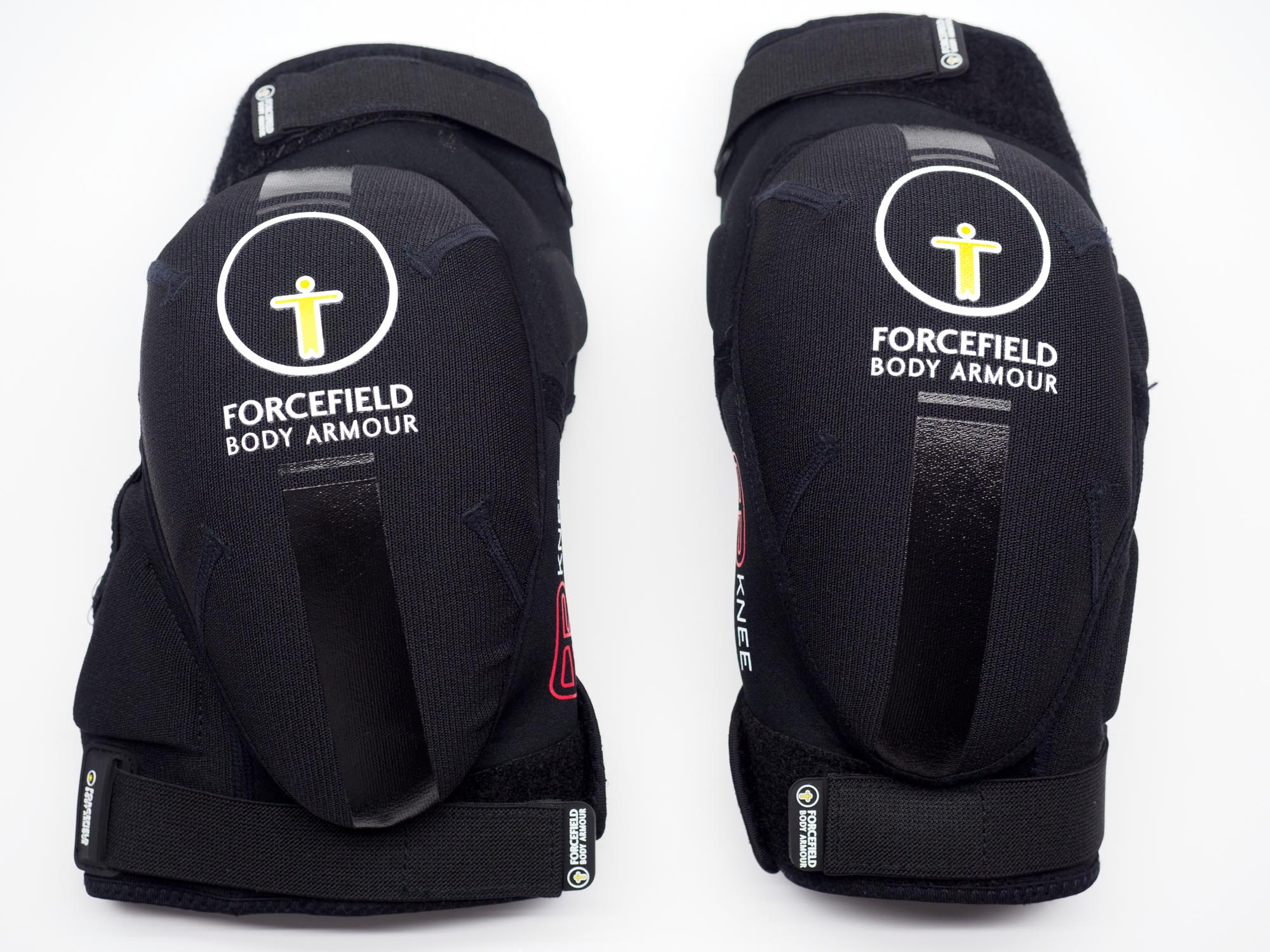 Forcefield AR Knee Protectors side by side