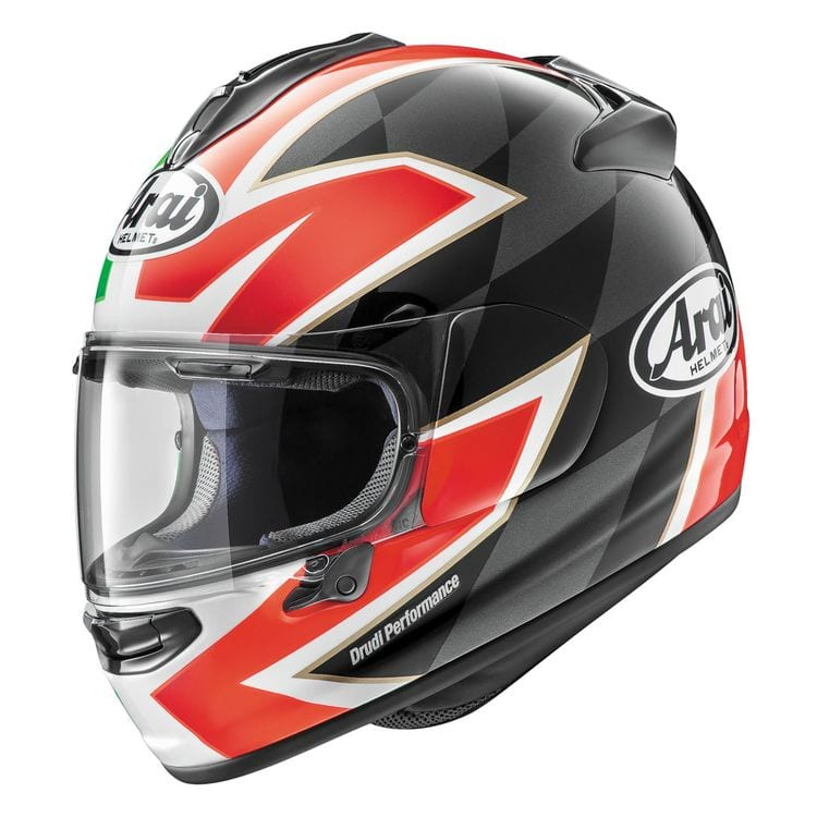 Arai DTX Italy Flag helmet