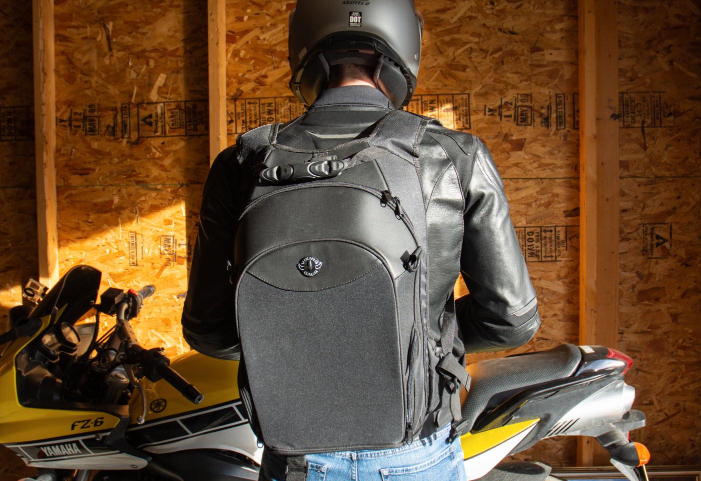 motorcycle viking backpack bags street review webbikeworld