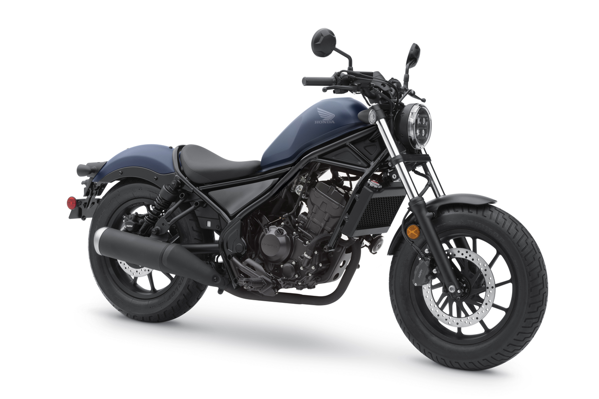 2020 Honda Rebel 300 Matte Blue Jeans Metallic RFQ