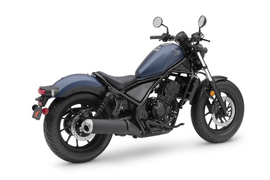 2020 Honda Rebel 300 Matte Blue Jeans Metallic RRQ