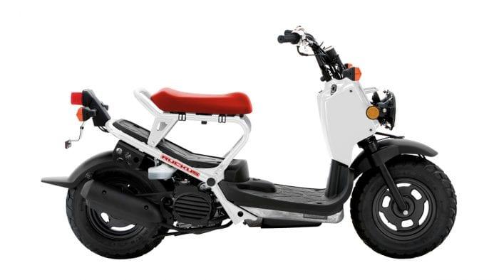2020 Honda Ruckus White Red