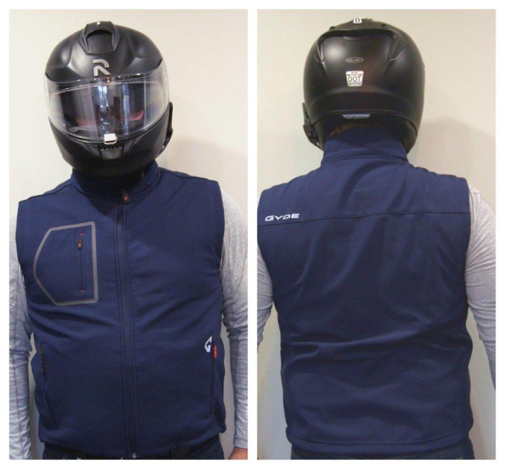 Gerbing 7V Torrid Vest front and back view