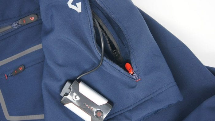 Gerbing Gyde 7V Heated Torrid Softshell Vest battery