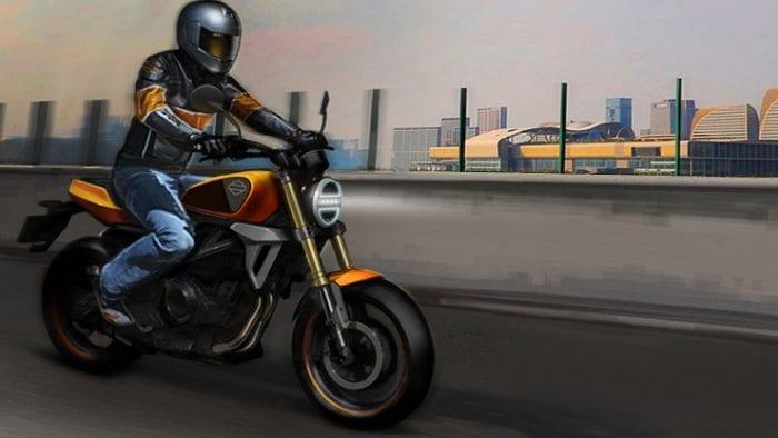 Baby Harley HD 350