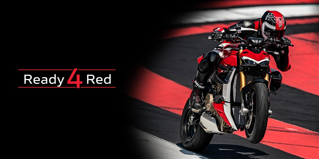 Ducati Ready 4 Red
