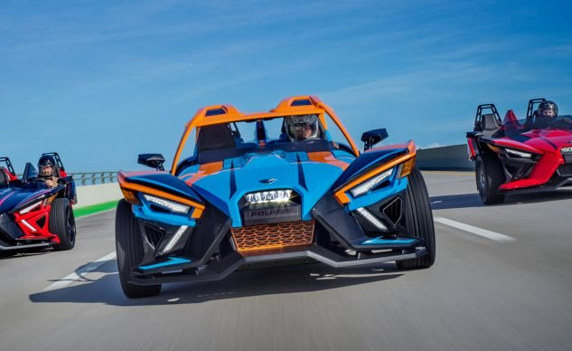 new 2020 polaris slingshot