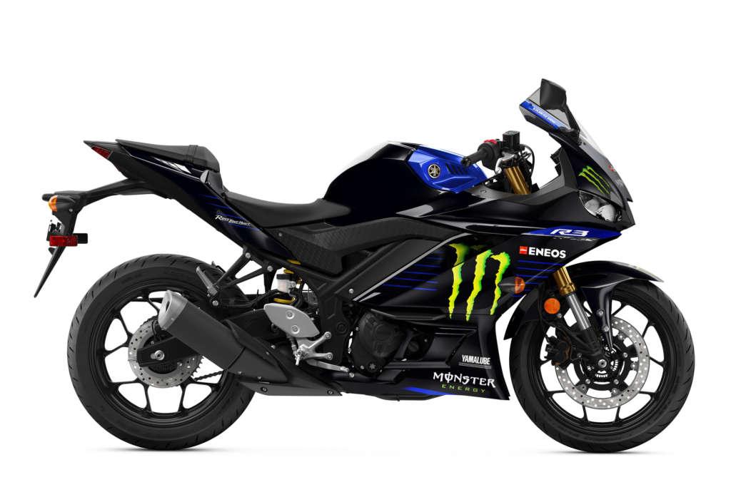 2020 Yamaha YZF-R3 Monster Energy MotoGP Edition