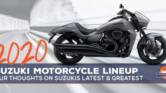 2020 Suzuki Motorcycles Model List