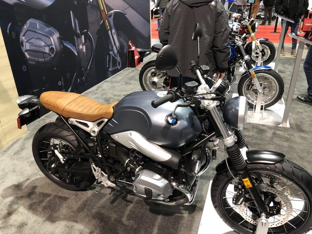 2020 BMW R Nine T side profile