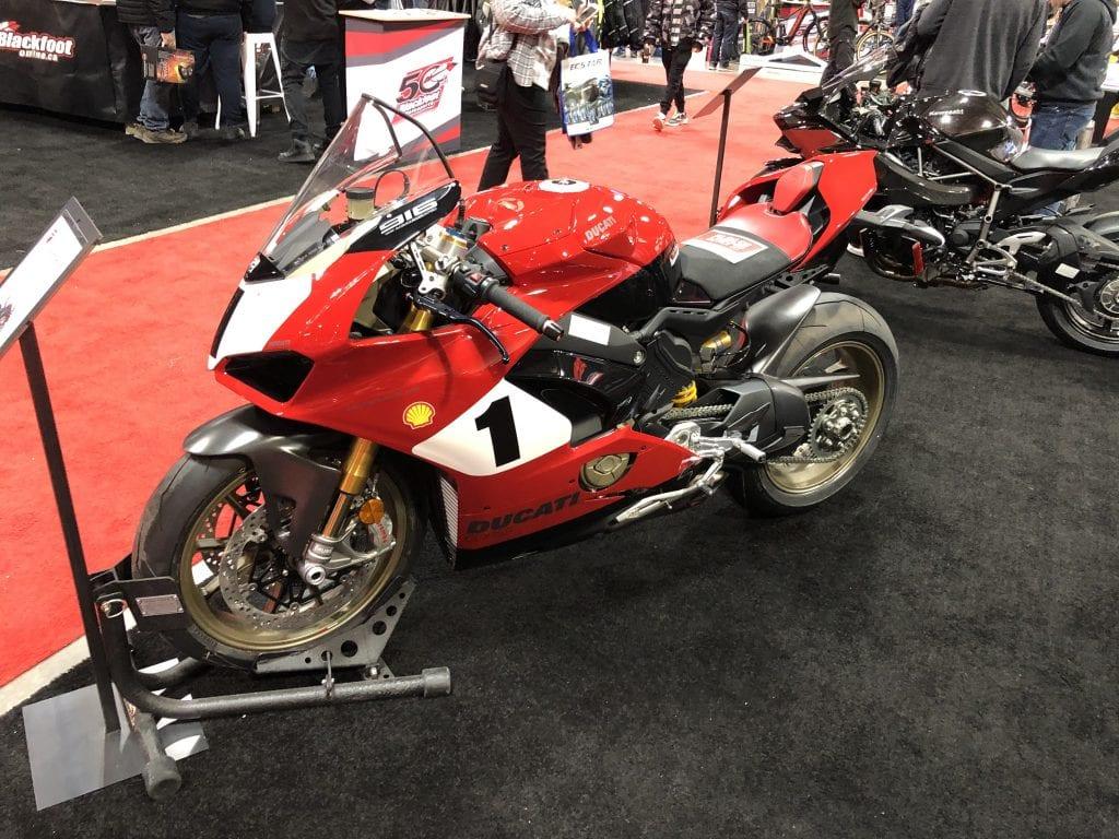 2020 Ducati Panigale V4 916 25th Anniversario Edition side profile