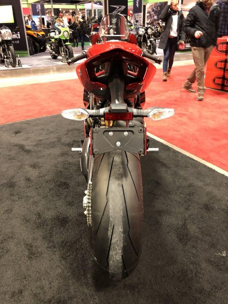 2020 Ducati Panigale V4 916 25th Anniversario Edition rear view