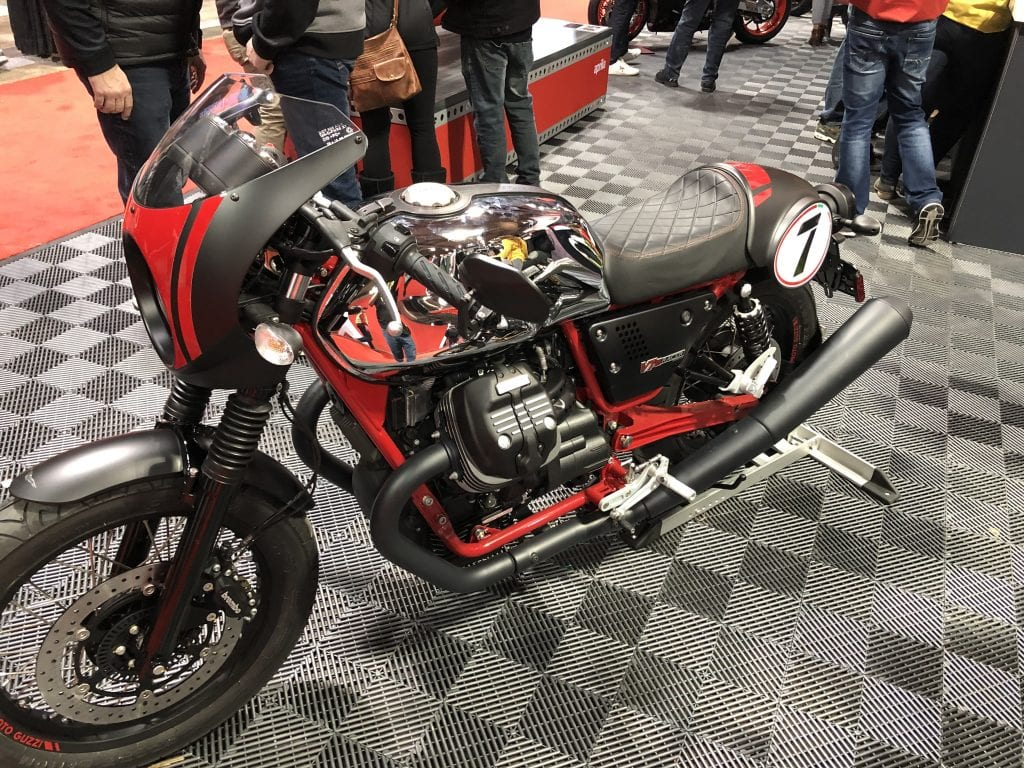 2020 Moto Guzzi V7 III Racer