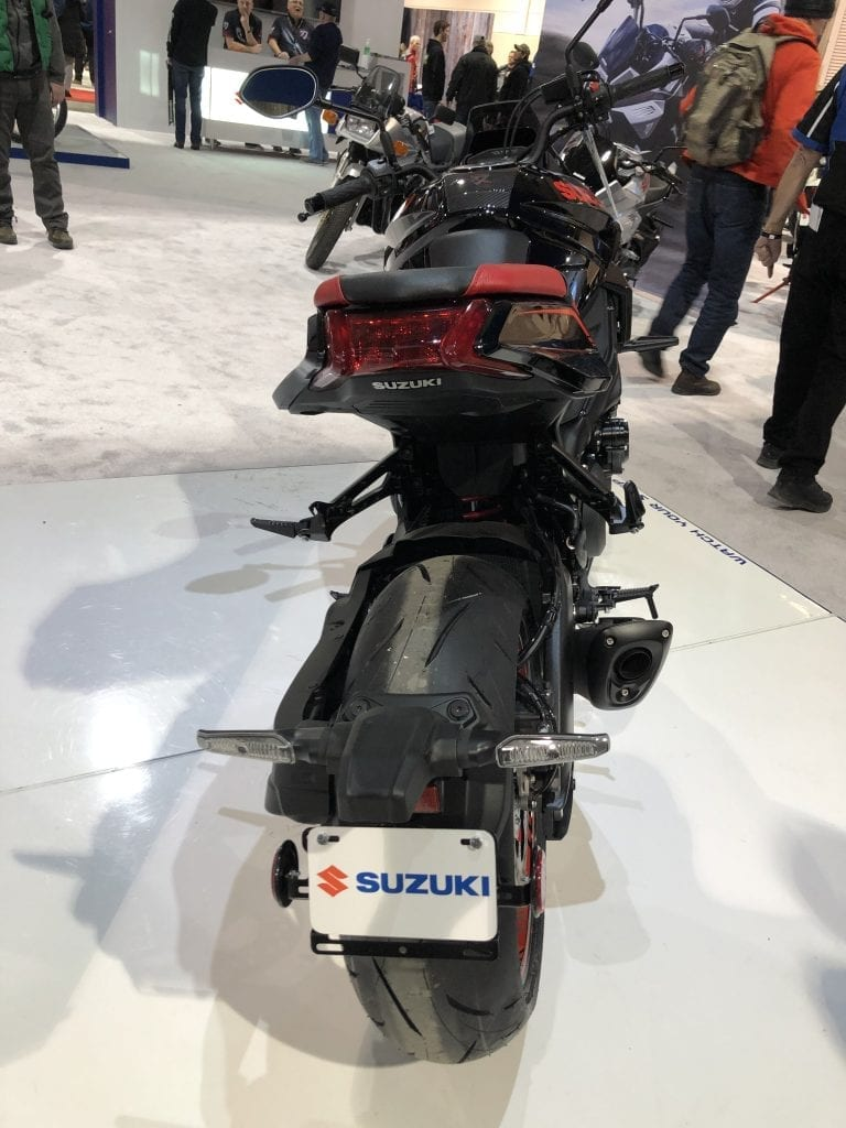 2020 Suzuki Katana rear detail