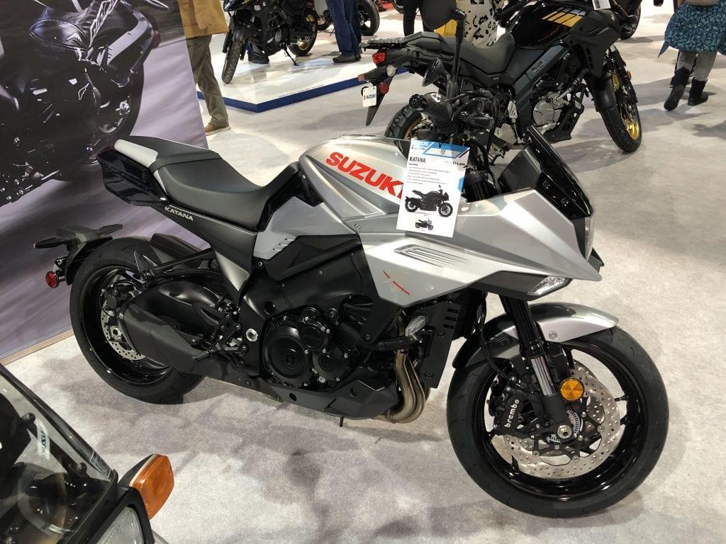 2020 Suzuki Katana side profile
