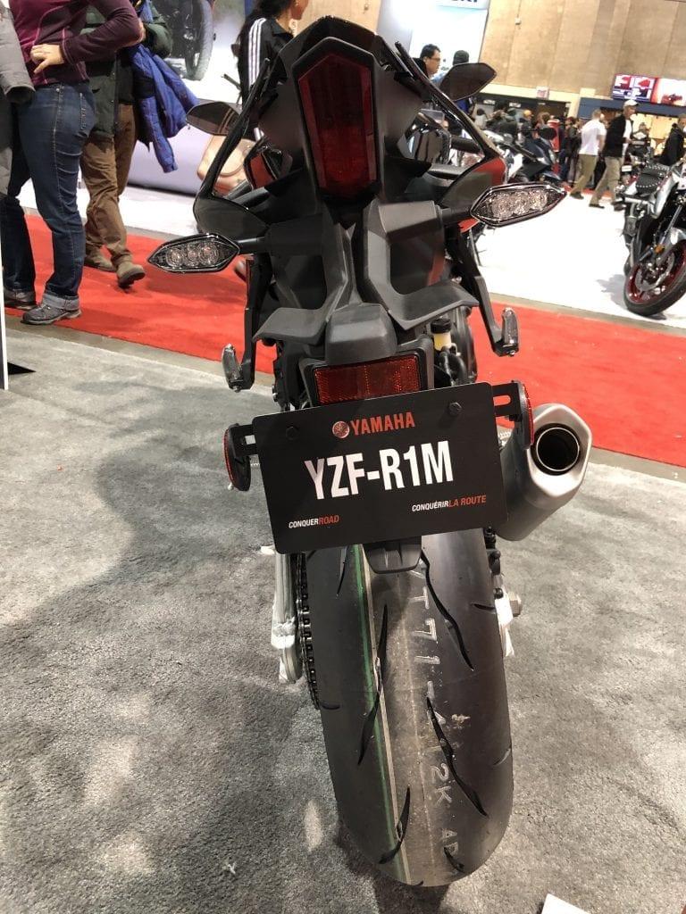 2020 Yamaha YZF-R1M rear detail