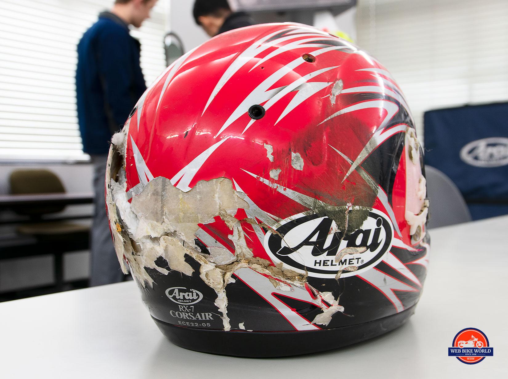 Arai Helmet at the Arai Factory