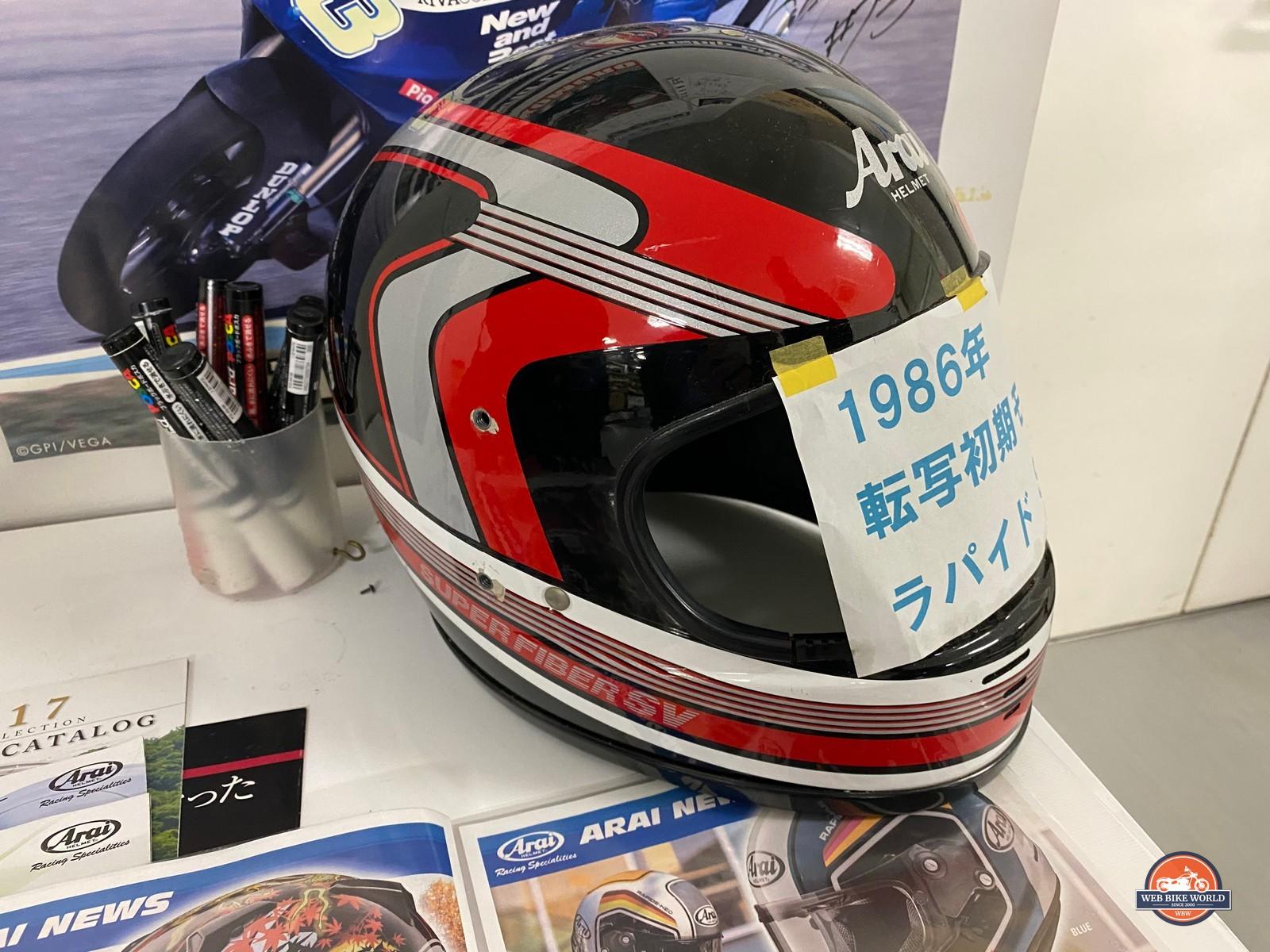 Arai Helmet at Arai Helmet Factory in Japan