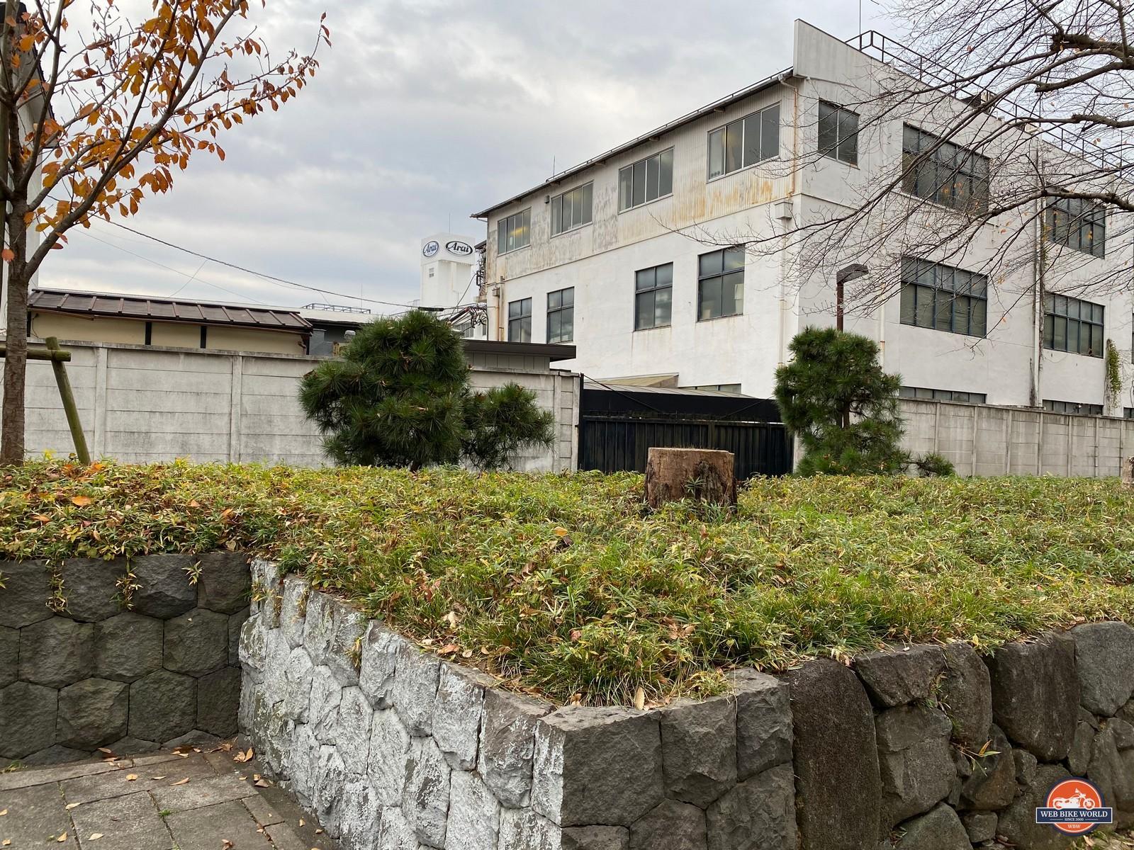 The present day Arai factory in Omiya, Japan.
