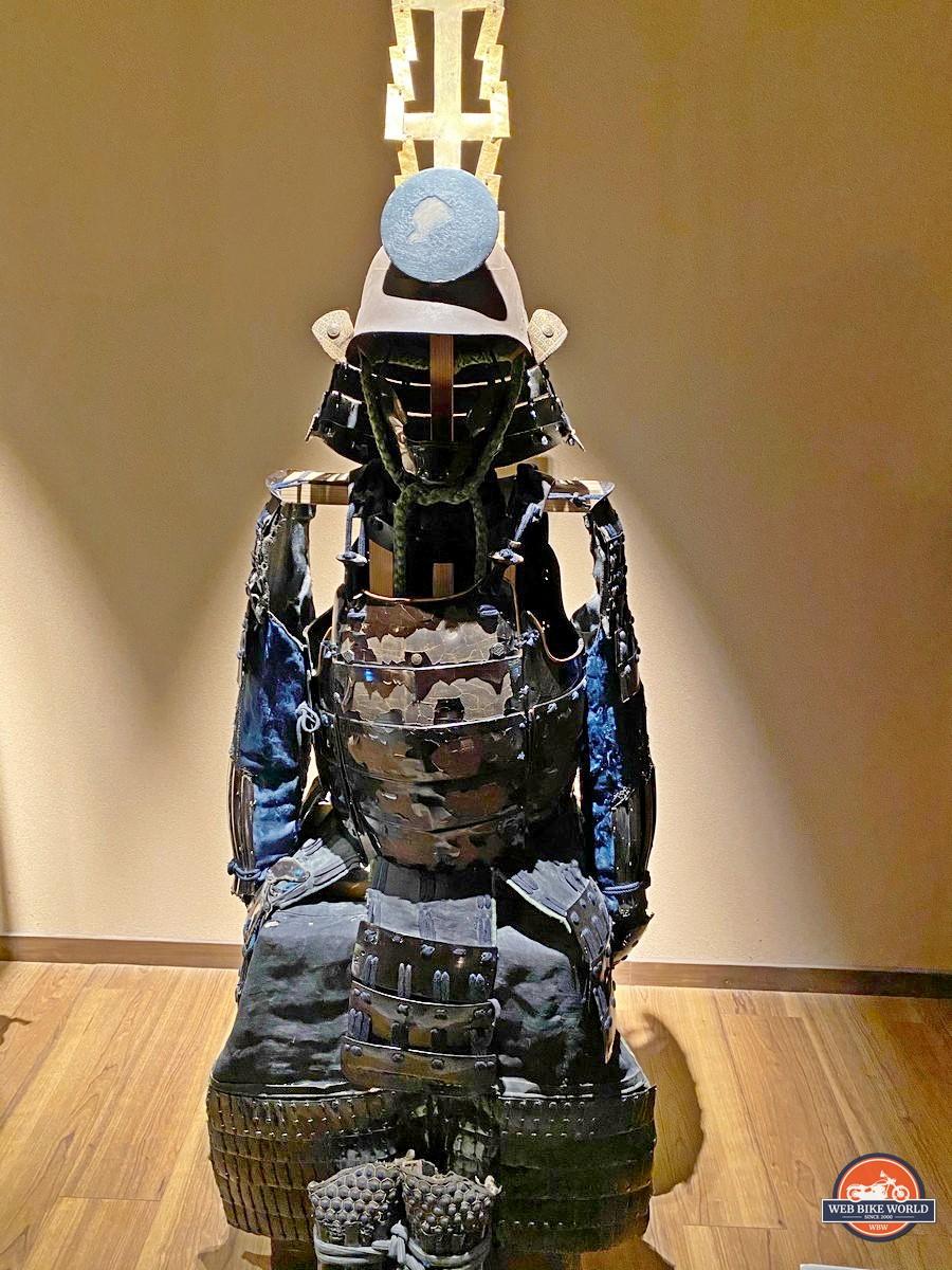 Samurai armour found at the Samurai museum in Shinjuku.