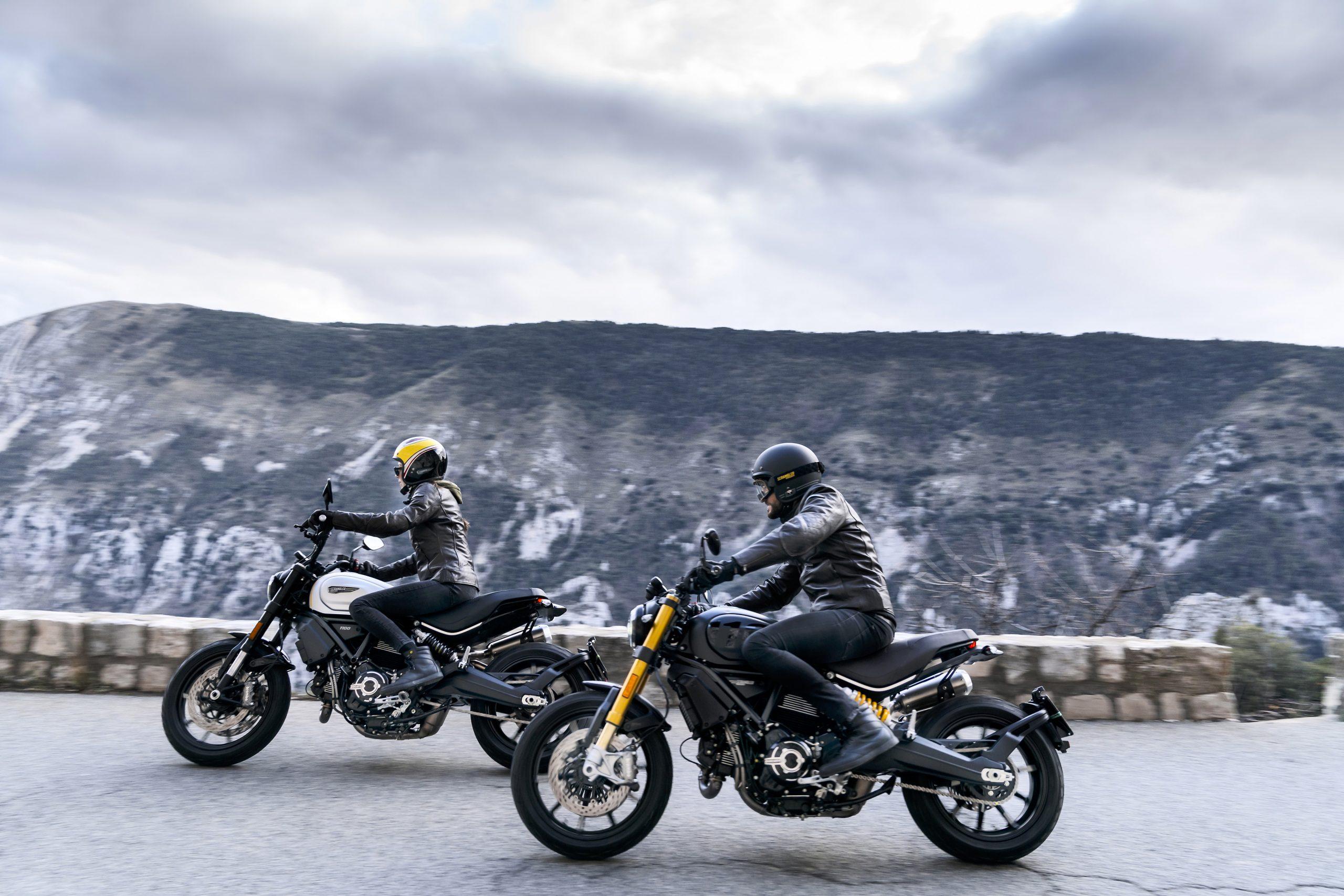 Ducati Scrambler 1100 Pro and 1100 Sport Pro