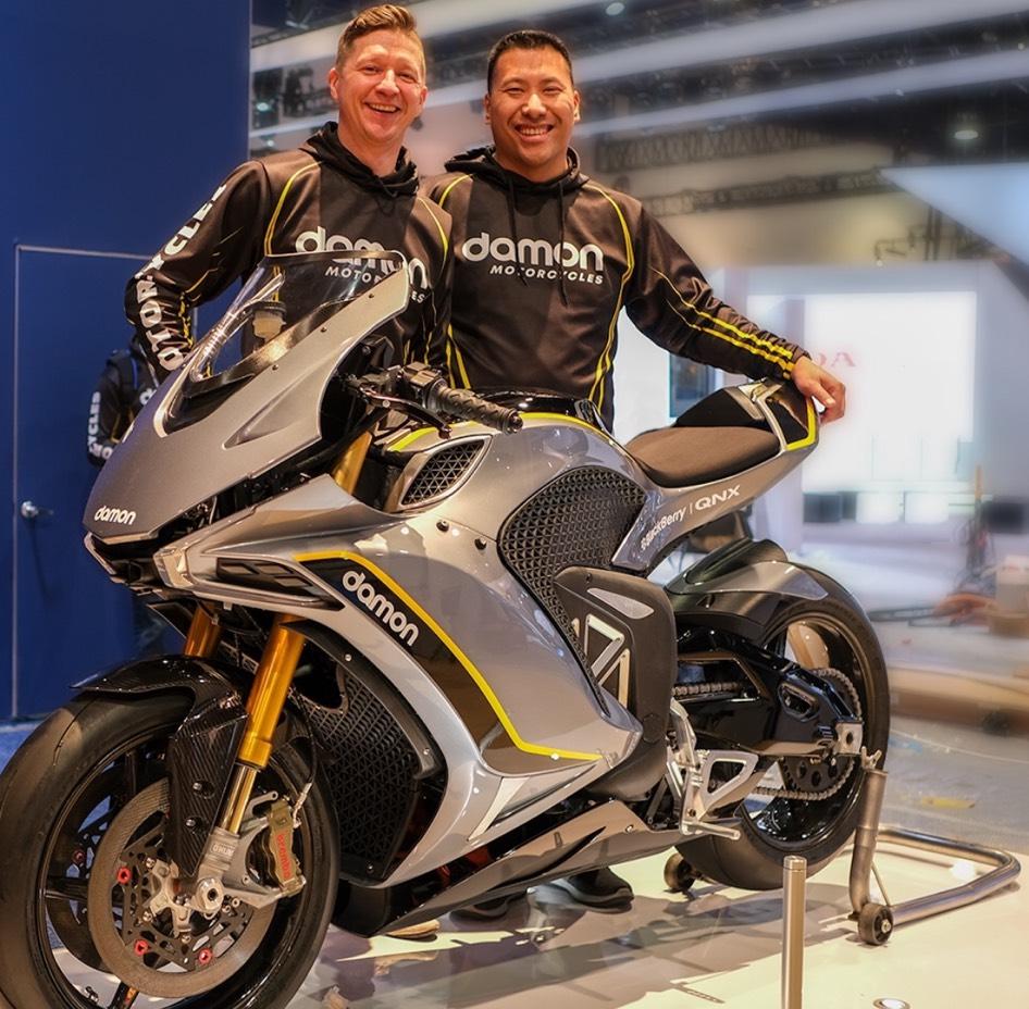 Damon Motorcycles Founders