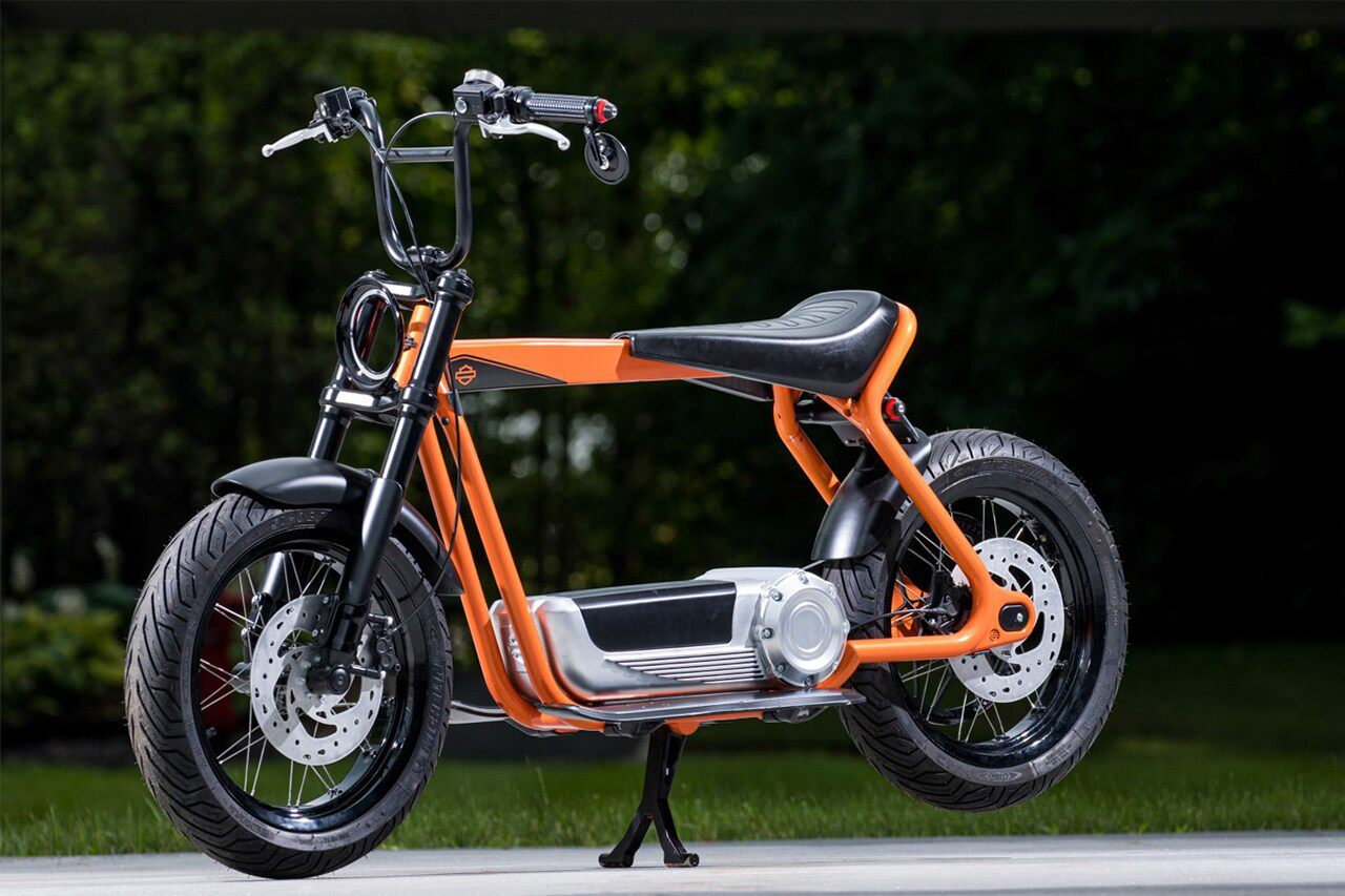 Harley-Davidson electric scooter