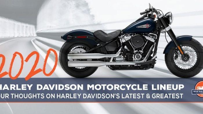 2020 Harley Davidson Lineup