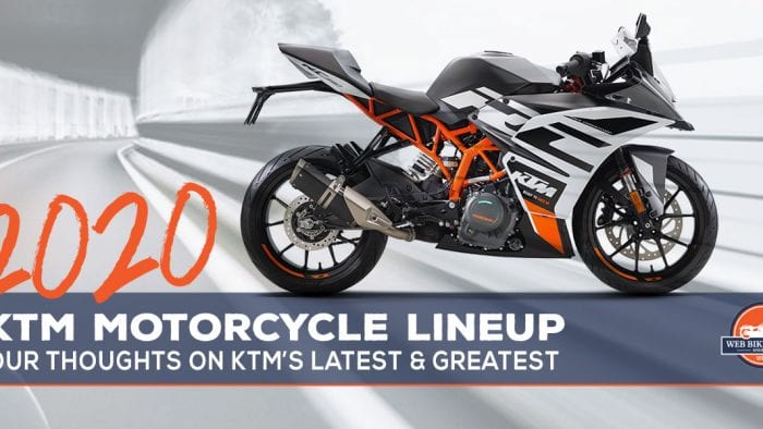2020 KMT Motorcycle Lineup