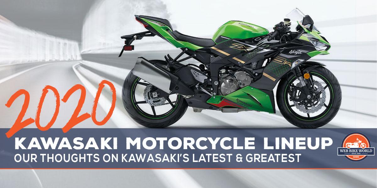 2020 Kawasaki motorcycle lineup