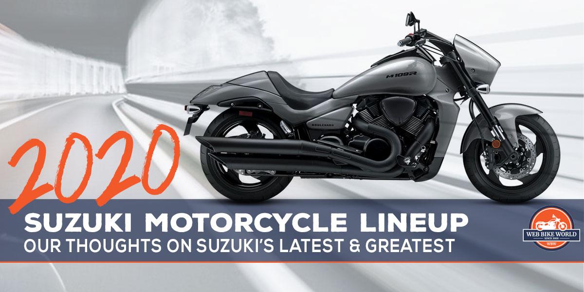 2020 Suzuki Motorcycles Model List