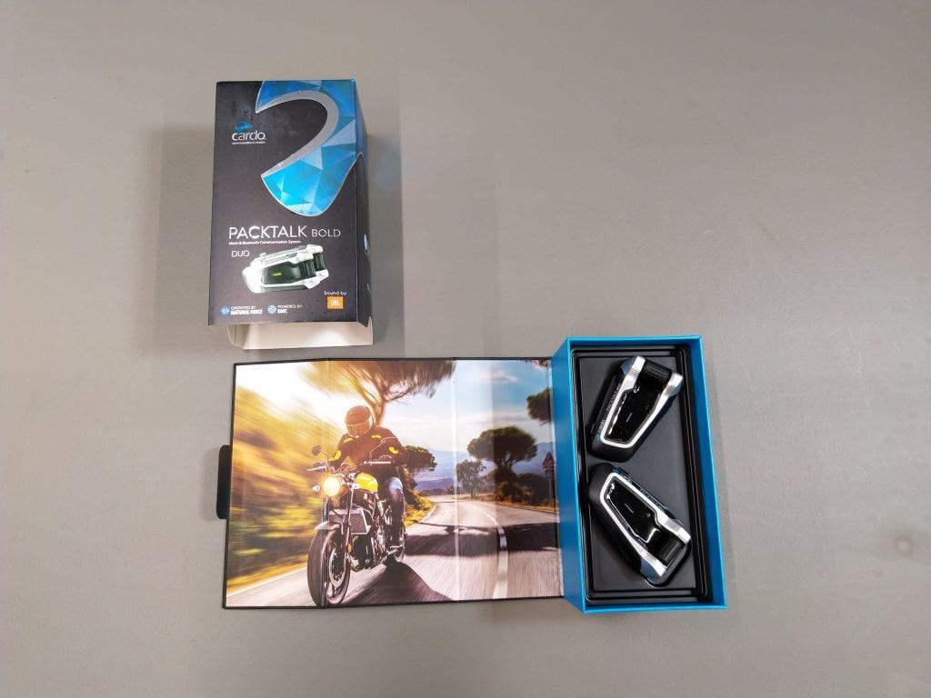 Cardo Scala Rider PACKTALK BOLD retail package