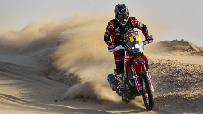 Honda Dakar rally