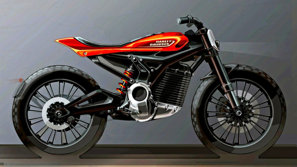 Harley electric flat tracker